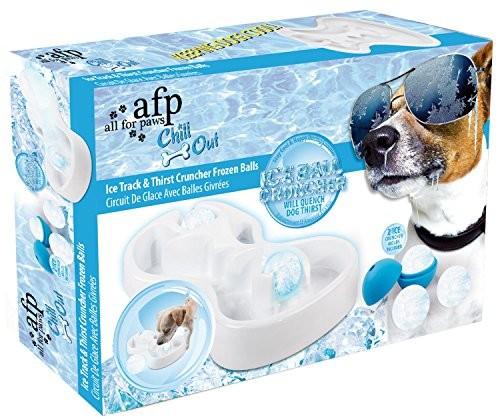 All for Paws All For Paws 8211Chill OutIce Track i Thirst Crunchersłuży do zabawy dla psa na lód Labyrinth - 1 zdjęcie