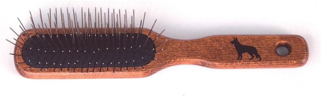 Amico drewniana szczotka, szpilka metalowa 22mm - 2 zdjęcie