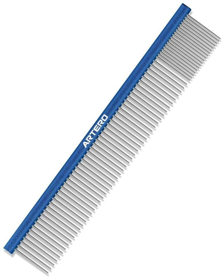 Artero P269 grzebień aluminiowy, mieszany 80/20, niebieski, dł. 24 cm - 1 zdjęcie