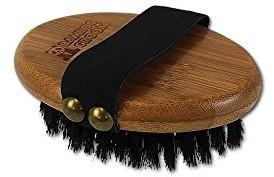 Bamboo Groom Palm Brush szczotka do ręcznie ze szczoteczką z włosiem dzika BG BRISTLE OS - 1 zdjęcie