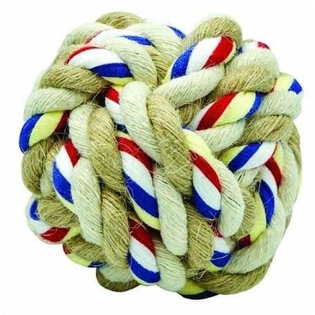 Barry King Barry King Piłka sznurowa z jutą S 5 cm/65 g - 1 zdjęcie