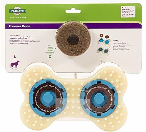 Busy Buddy PetSafe Forever Bone zabawka dla psów do żucia, zabawka na przekąski dla mocnych krzewów, wytrzymała, l - 1 zdjęcie