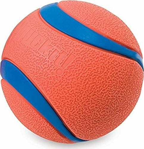 Chuckit! chuckit. Ultra ball, pomarańczowy/niebieski 17001 - 1 zdjęcie