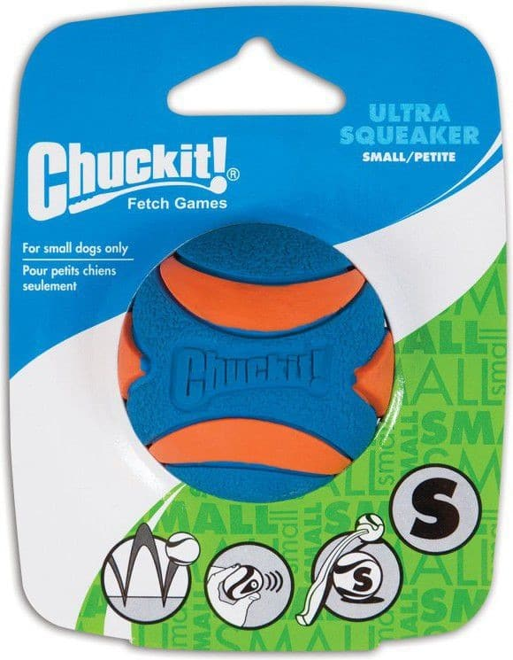 Chuckit! ULTRA SQUEAKER BALL SMALL 52070 - 1 zdjęcie