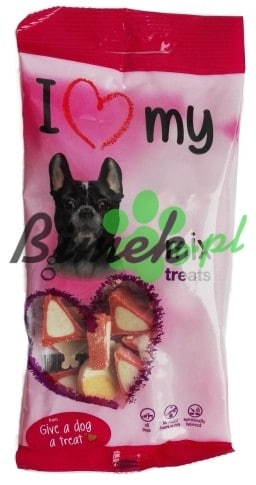 Essential Foods I Love My Dog 100g Mix treats psie przysmaki PROMOCJA - 1 zdjęcie