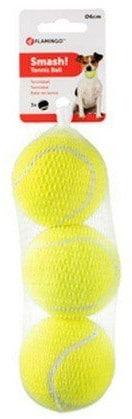 Flamingo Piłki tenisowe 6cm 3szt [518482] - 1 zdjęcie