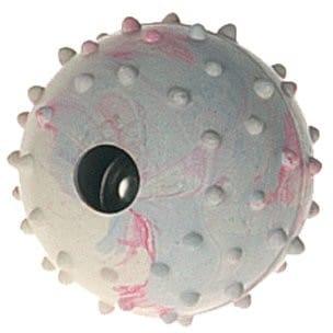 Flamingo zabawka dla dzieci: 6X piłka z gumy z dzwonkami  5cm # 500146 E-91000 - 1 zdjęcie