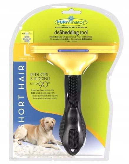 FURminator dla Psa do krótkiej sierści L szczotka - 1 zdjęcie