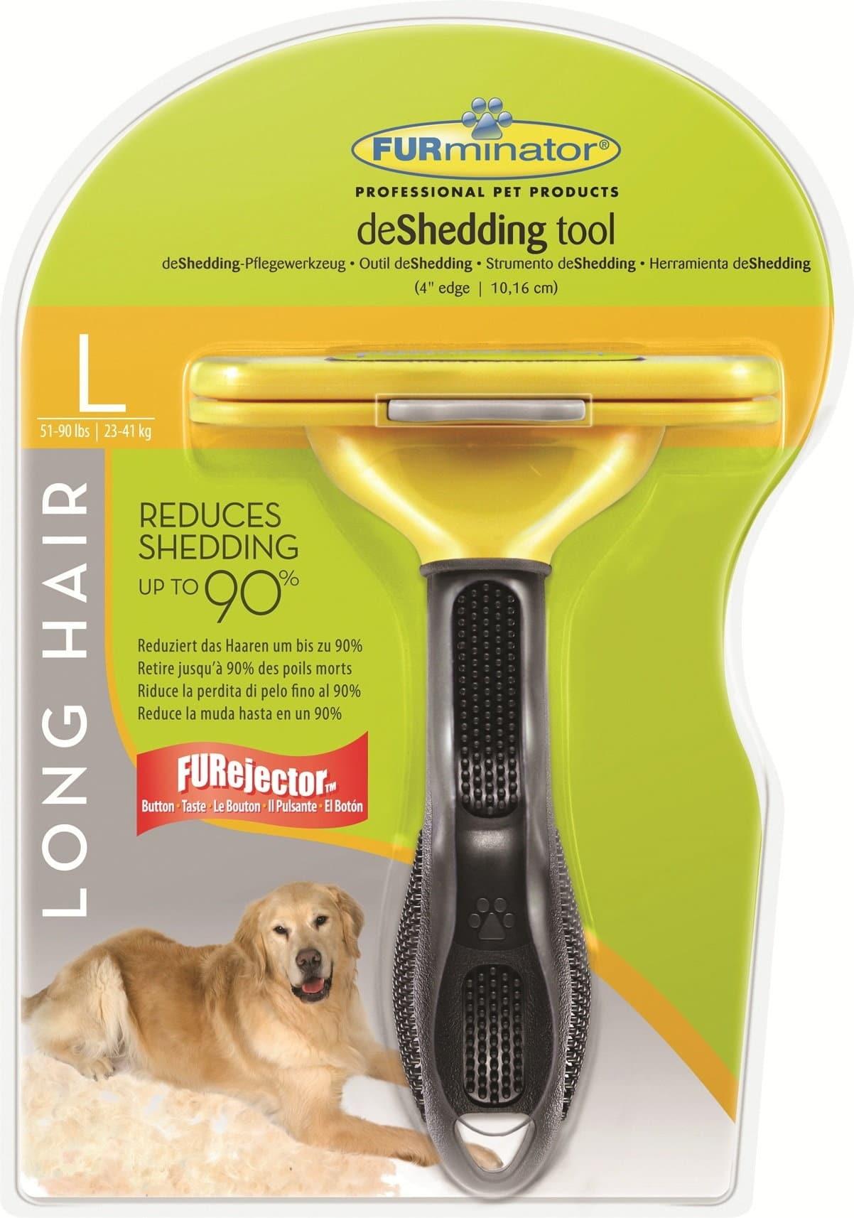FURminator dla psów długowłosych - Large - 1 zdjęcie