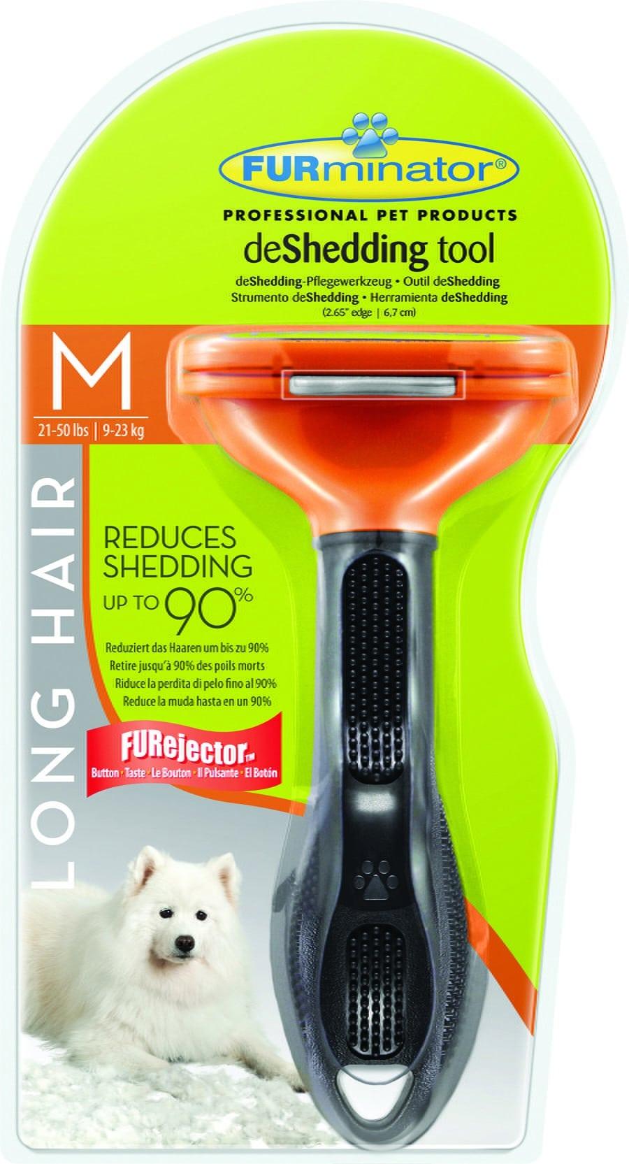 FURminator dla psów długowłosych - Medium - 1 zdjęcie