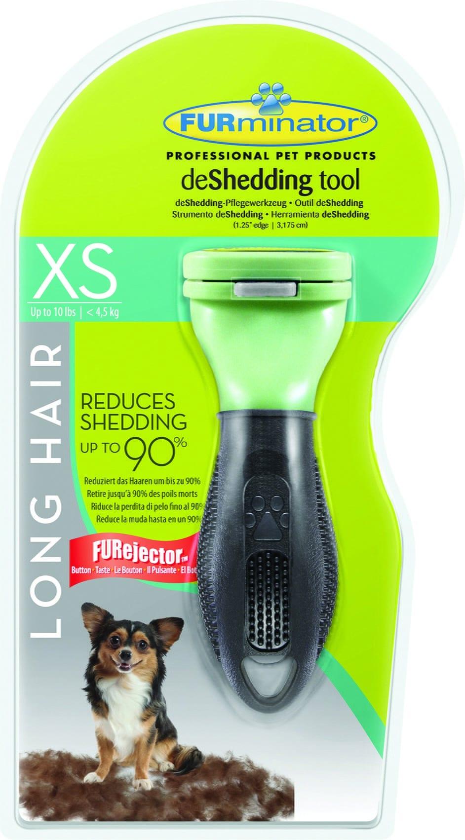 FURminator dla psów długowłosych - Toy Dog - 1 zdjęcie