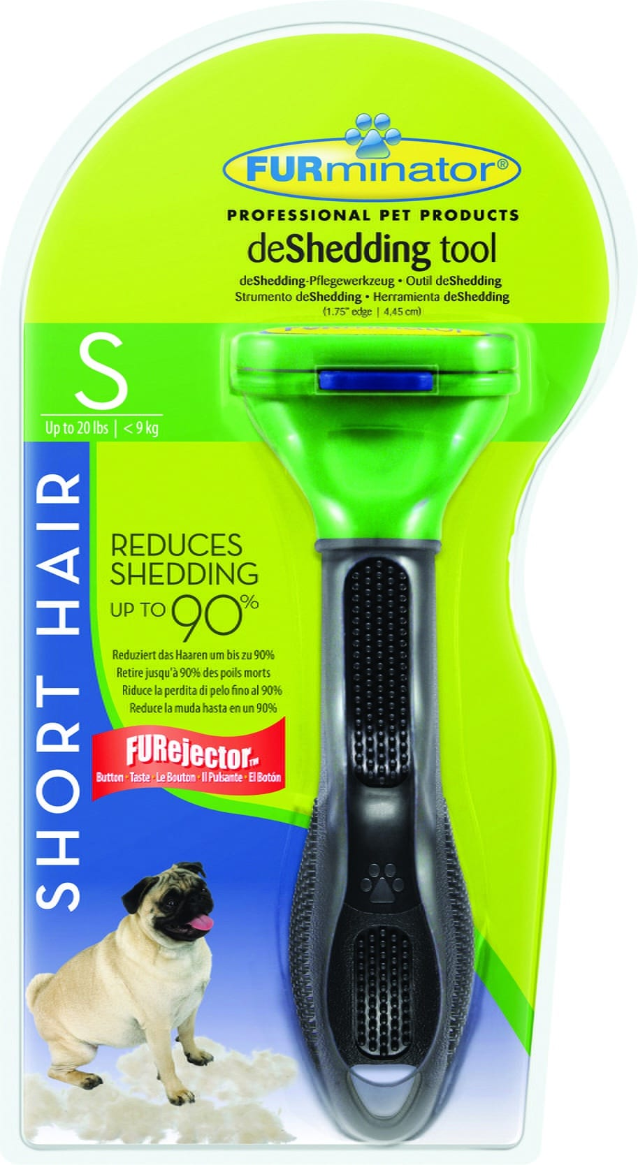 FURminator dla psów krótkowłosych - Small - 1 zdjęcie