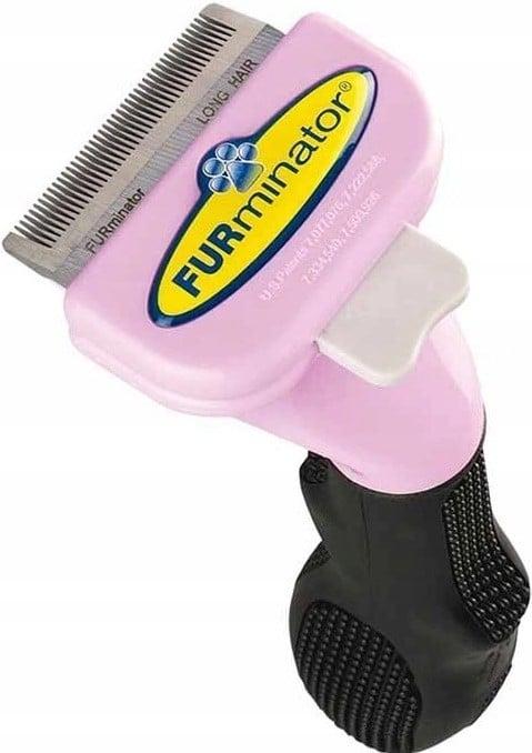 FURminator Szczotka dla Kotów Długowłosych S - 1 zdjęcie
