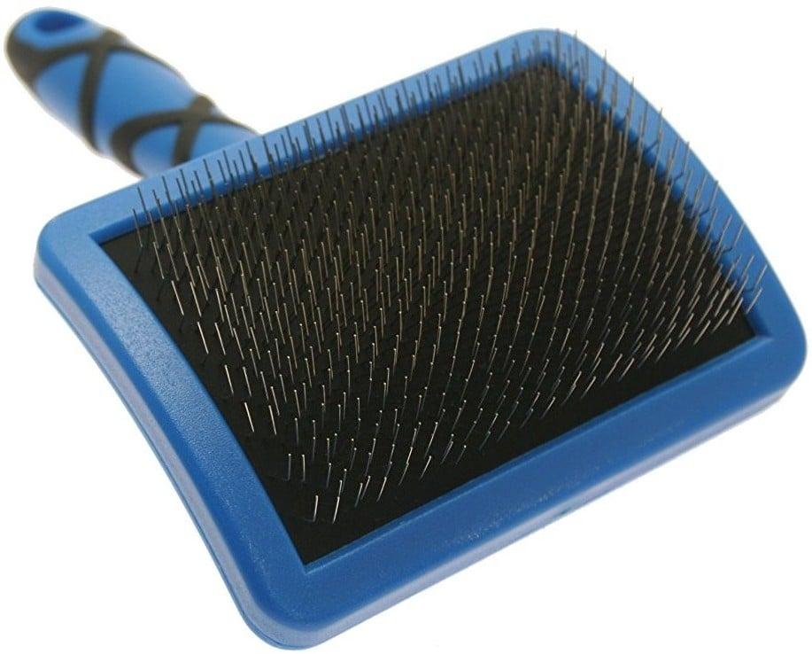 Groom Professional Firm Slicker Brushes Large - twarda szczotka pudlówka, duża - 1 zdjęcie