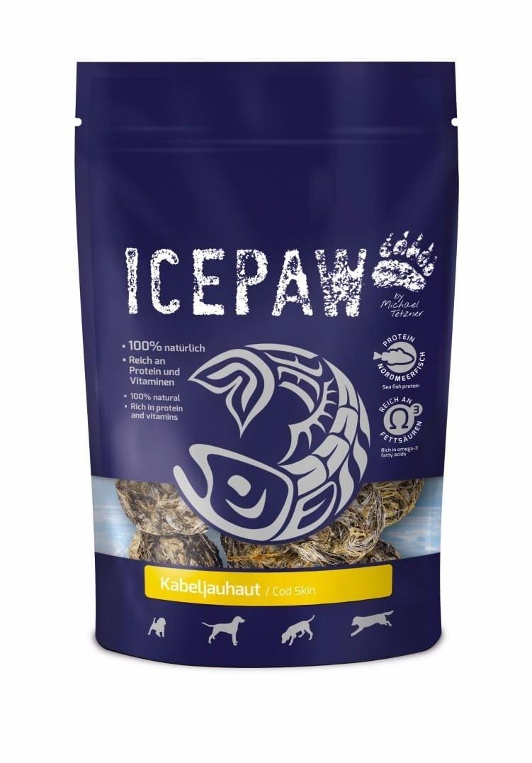 Icepaw ICEPAW Kabeljauhaut  przysmaki ze skóry dorsza (100g) 4260321915926 - 1 zdjęcie