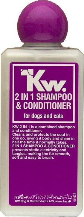 KW KW Shampoo and Conditioner 2in1 szampon z odżywką 2 w 1 200 ml uniwersalny - 1 zdjęcie