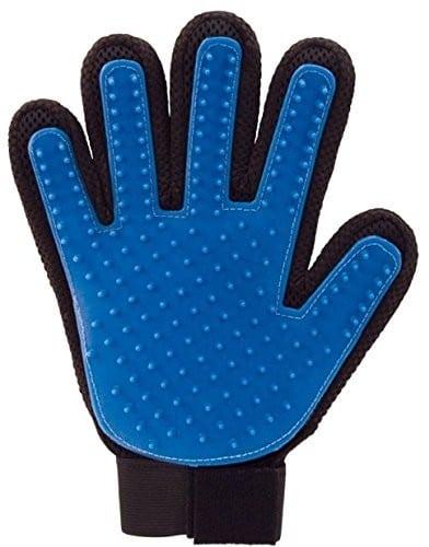 lalang 1 X szczotka do pielęgnacji/rękawica do włosów dla psów/kotów rękawice do masażu do pielęgnacji sierści miękkie i zwiększenie wydajności do czyszczenia right hand - 1 zdjęcie