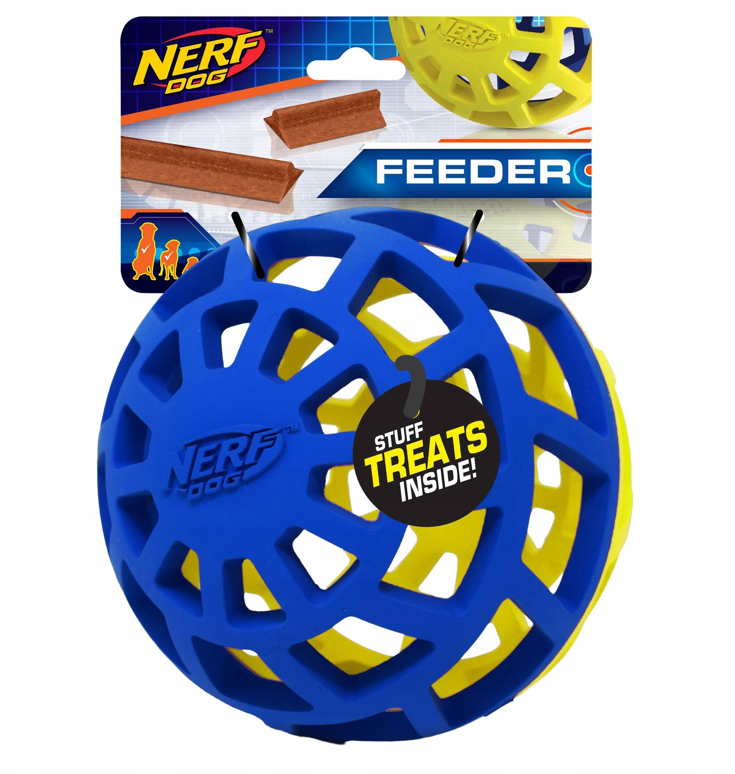 Nerf Dog Exo Ball Feeder 12,5 cm - 1 zdjęcie
