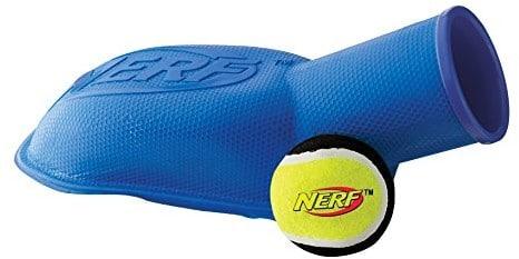 Nerf Dog stomper piłka piłka tenisowa Armatka w kolorze niebieskim i czerwonym 30,5 cm VP6629E - 1 zdjęcie