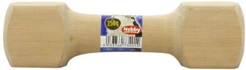 Nobby drewno wycofać hantle, 250 g 73401 - 1 zdjęcie