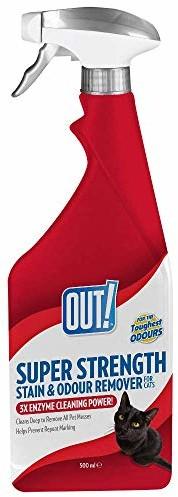 OUT! Out. Super grubość środek do usuwania plam i zapachów, 500ML - 1 zdjęcie