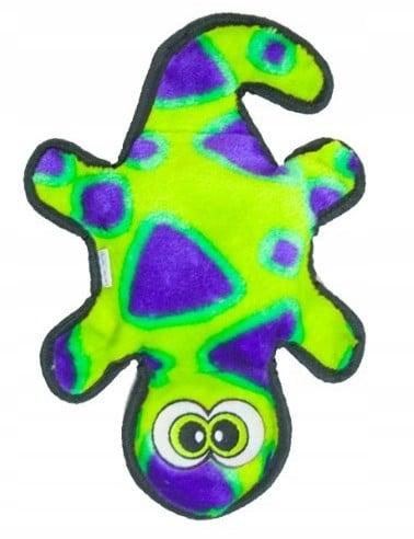 Outward Hound Invincibles Gecko green 2 piszczałki - 1 zdjęcie