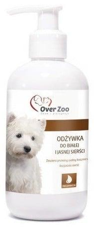 Over Zoo Odżywka do sierści dla białej i jasnej sierści 2440ml 13515 - 1 zdjęcie