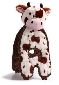 Petstages Cuddle Tugs Krowa 38cm PS69593 - 3 zdjęcie