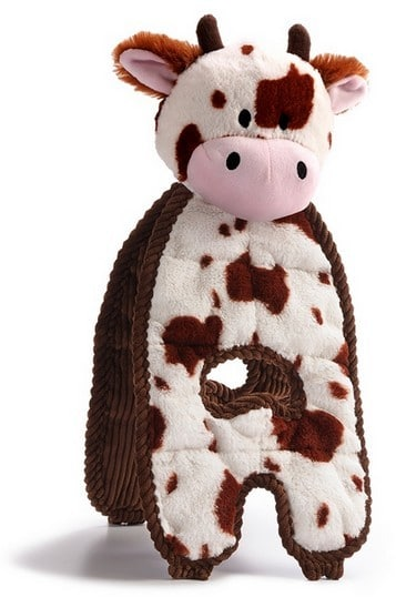 Petstages Cuddle Tugs Krowa 38cm PS69593 - 4 zdjęcie