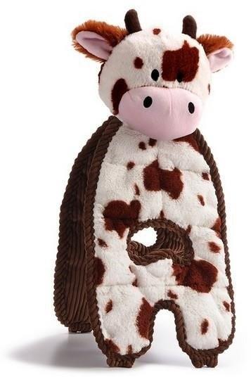 Petstages Cuddle Tugs Krowa 38cm PS69593 - 5 zdjęcie