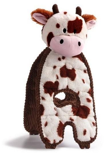 Petstages Cuddle Tugs Krowa 38cm PS69593 - 1 zdjęcie
