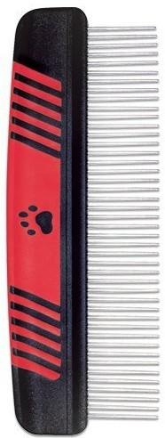 Phoenix Grzebień Ideal Dog z obrotowymi ząbkami, pneumatyczny 19cm - 1 zdjęcie