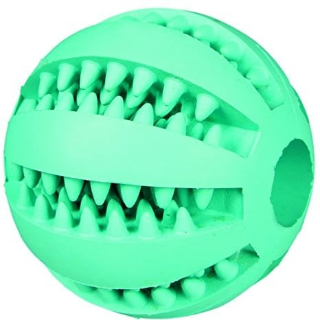 Trixie TX-32880Mint Fresh Baseball, Natural Rubber o 6cm - 1 zdjęcie