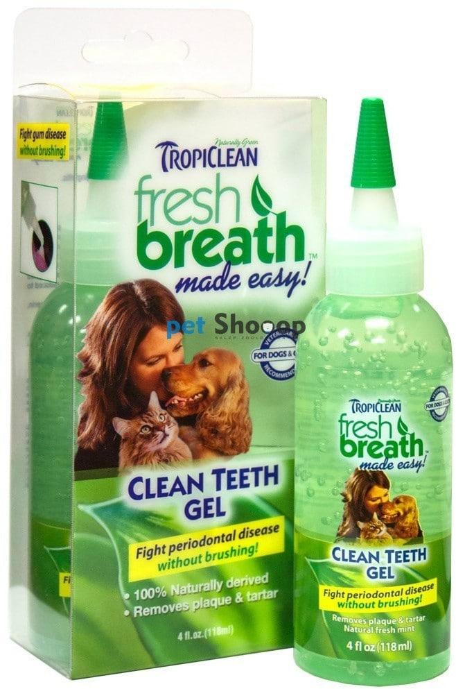 Tropiclean Tropiclean Fresh Breath Clean Teeth Gel 118ml TC-001077 - 1 zdjęcie
