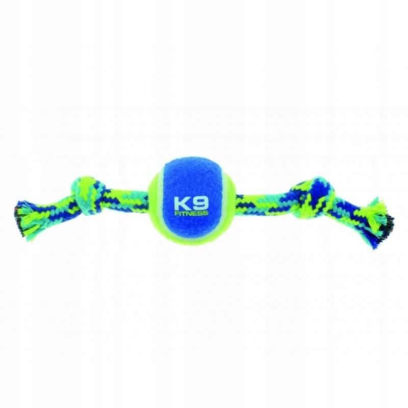 Zabawka dla psa Sznur z piłką Zeus Fitness K9 L - 1 zdjęcie