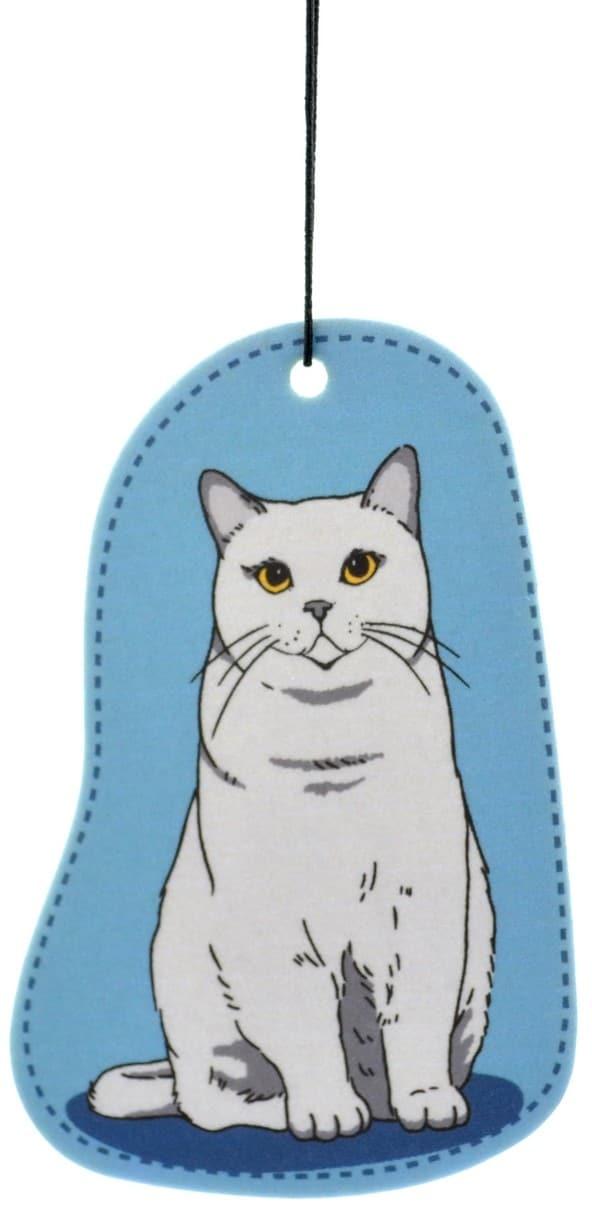 Zawieszka zapachowa do auta Kot Brytyjski Bergamot - 1 zdjęcie