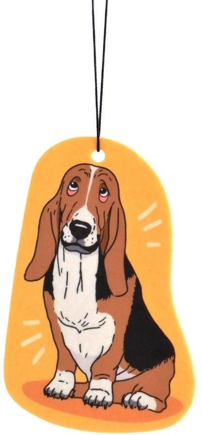 Zawieszka zapachowa Pies Bassett | zapach Bergamot - 1 zdjęcie