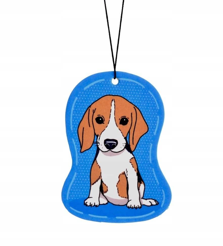 Zawieszka zapachowa Pies Beagle zapach Wanilia - 1 zdjęcie