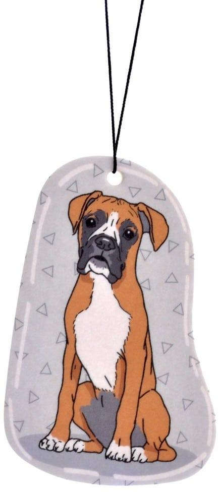 Zawieszka zapachowa Pies Boxer Bokser | Wanilia - 1 zdjęcie