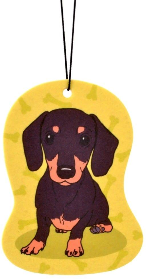 Zawieszka zapachowa Pies Jamnik zapach Bergamot - 1 zdjęcie
