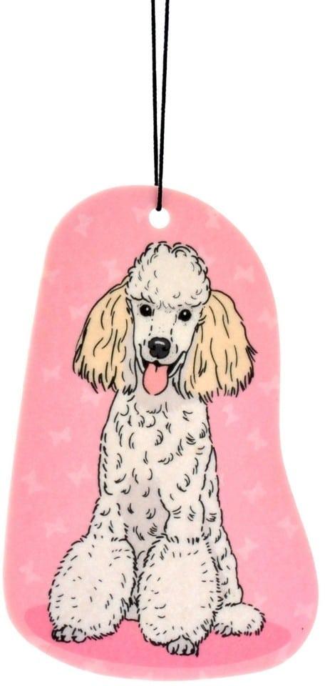 Zawieszka zapachowa Pies Pudel | Zapach Bergamot - 1 zdjęcie
