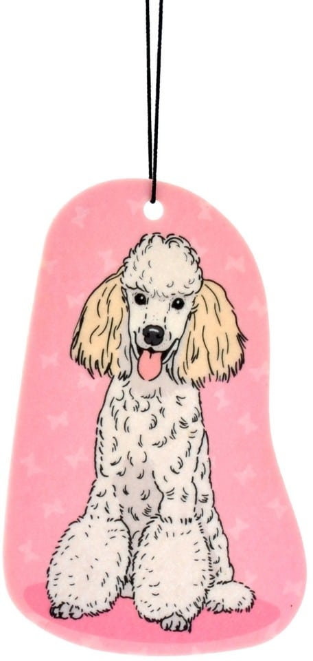 Zawieszka zapachowa Pies Pudel | Zapach Wanilia - 1 zdjęcie