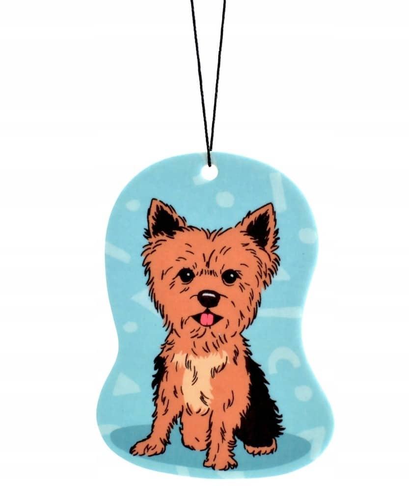 Zawieszka zapachowa Pies YORKShire zapach Vanilla - 1 zdjęcie