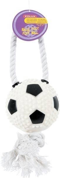 Zolux Zabawka piłka nożna ze sznurkiem Dostawa GRATIS od 99 zł + super okazje - 2 zdjęcie