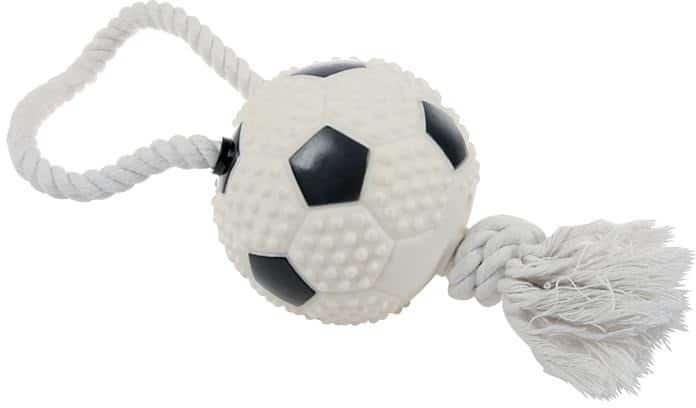 Zolux Zabawka piłka nożna ze sznurkiem Dostawa GRATIS od 99 zł + super okazje - 1 zdjęcie