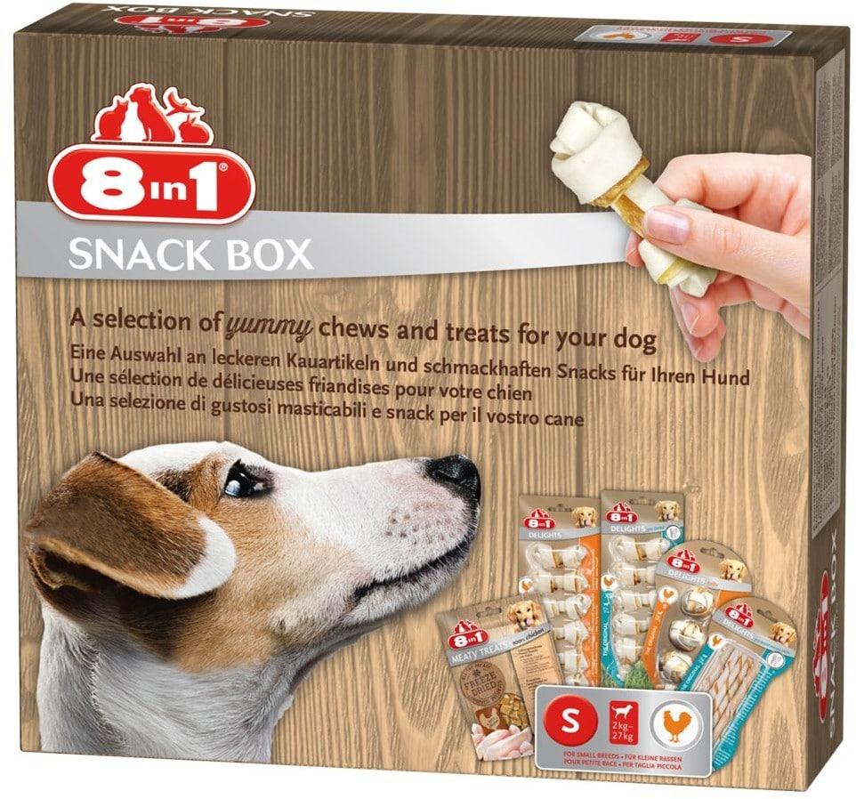 8in1 Snackbox pudełko z przysmakami M 445 g - 1 zdjęcie