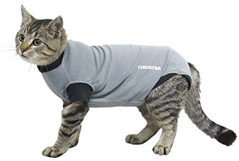 Buster najpopularniejsze, body Suit EasyGo dla kota, mały, czarny KR273963 - 1 zdjęcie