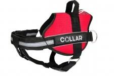 Collar Szelki Wielofunkcyjne Collar dla psa 55-75cm czerwone #3 07063 - 1 zdjęcie