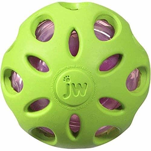 JW Pet Company Crackle głowice Crackle ball zabawka dla dzieci, bardziej, kolory mogą się różnić 47014 - 1 zdjęcie