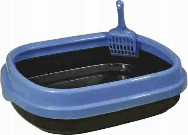 Kuweta Polly Happet plastikowa niebieska - 2 zdjęcie
